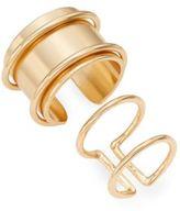 Jules Smith Designs Saturn Ring/Goldtone