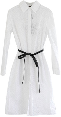 Louis Vuitton White Cotton Dresses