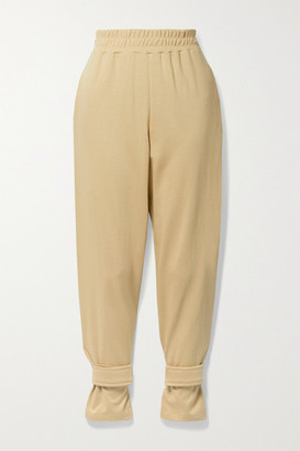 Frankie Shop French Cotton-terry Track Pants