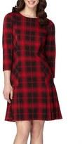Tahari Plaid Shift Dress (Regular & Petite)