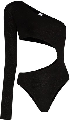 Fantabody Carolina cut-out glitter bodysuit