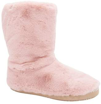Animal Womens Rose Dust Pink Bollo Slipper Boots - Pink