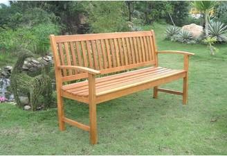 Breakwater Bay Sabbattus Balau 3-Seat Garden Bench