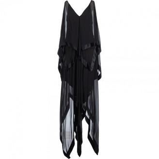 Galliano Black Silk Dress for Women