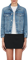 Helmut Lang Women's Cotton Shrunken Denim Jacket
