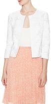 LK Bennett Livia Broderie Cotton Jacket