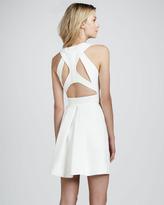 Robert Rodriguez Sleeveless Cutout-Back Dress