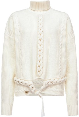 Pinko Cable Knit Detail Jumper