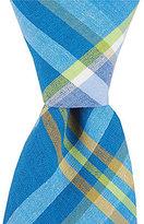 Original Penguin Morey Plaid Skinny Cotton Tie