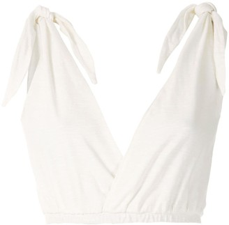 Framed Knot cropped top