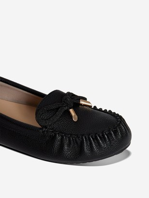 Dorothy Perkins Wide Fit Levi PUDriver Shoes - Black