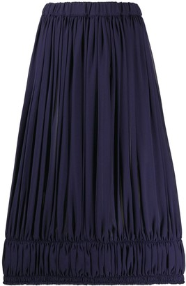 Comme des Garcons Elasticated High-Waisted Skirt