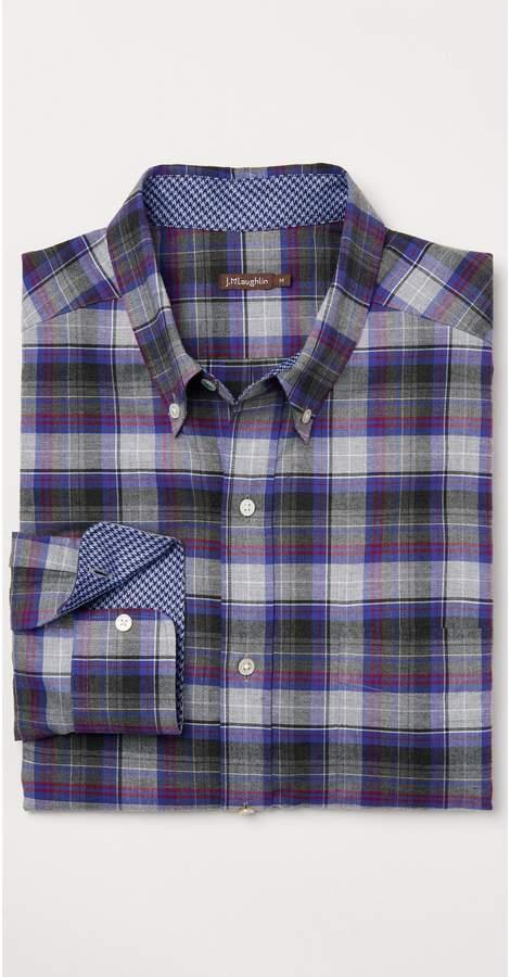 J.Mclaughlin Carnegie Classic Fit Flannel Shirt in Plaid
