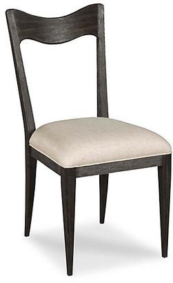 Silhouette Side Chair - Worn Black - Lauren Liess