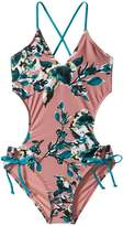 Splendid Littles Watercolor Floral One-Piece Girl's Swimsuits One Piece