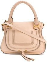 Chloé Marcie tote bag - women - Cotton/Calf Leather - One Size
