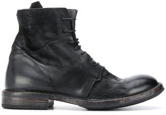 Moma Minsk lace-up boots
