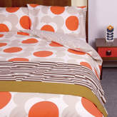 Orla Kiely Bigspot Shadowflower Clay Quilt Cover Set