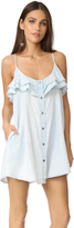 MinkPink Cloud Nine Ruffle Dress