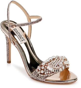 Badgley Mischka Odelia Glitter Sandals
