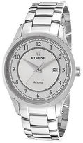 Eterna 2520-41-64-0274 Men's Artena Stainless Steel White Dial SS
