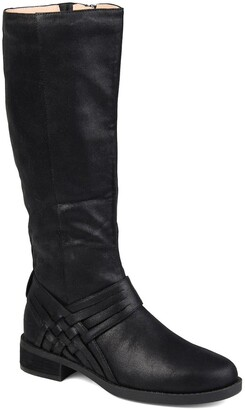 Journee Collection Meg Boot - Extra Wide Calf