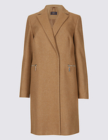 M&S Collection 2 Pocket Coat
