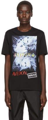 Versace Black Richard Avedon Edition Blonde T-Shirt