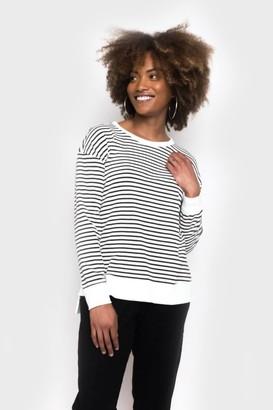 Gibson Long Sleeve Stripe Soft Sweatshirt