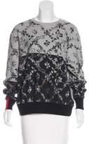 Preen by Thornton Bregazzi Preen Printed Oversize Sweatshirt