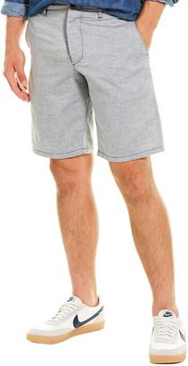Rag & Bone Base Linen-Blend Short