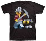 Lego Boys' City T-Shirt - Black