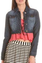 Hot Kiss Cropped Denim Jacket