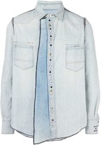 Golden Goose Deluxe Brand 'Keith' denim shirt - men - Cotton - L