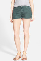 AG Jeans Tristan Cuffed Linen Blend Short