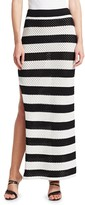 Dodo Bar Or Margaret Stripe Knit Maxi Skirt