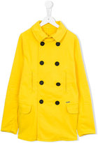 DSQUARED2 classic peacoat - kids - Cotton/Spandex/Elastane - 14 yrs