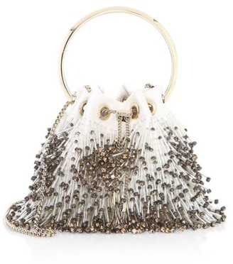 Jimmy Choo Bon Bon Beaded Fringe Clutch