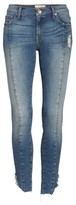 Band of Gypsies Women's Lola Front Seam Skinny Jeans