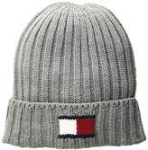 Tommy Hilfiger Men's Knit Logo Cuffed Hat