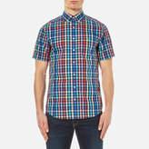 Gant Men's Small Check Short Sleeve Shirt