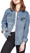 Topshop Women's Oversize Denim Jacket