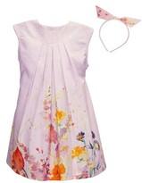 Isabel Garreton Girl's Floral Dress & Headband Set