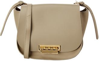 Zac Posen Eartha Iconic Leather Saddle Bag