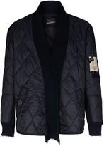 Greg Lauren Panelled Quilted Bomber Jacket
