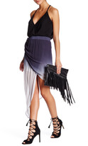 Young Fabulous & Broke Asymmetrical Ombre Skirt