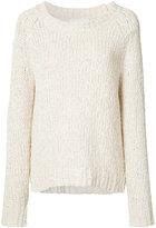 Co classic slouch jumper - women - Cotton/Linen/Flax/Nylon - M