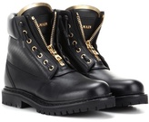Balmain Taiga Leather Boots