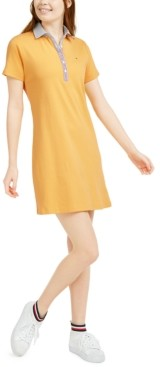 Tommy Hilfiger Polo-Neck Mini Dress
