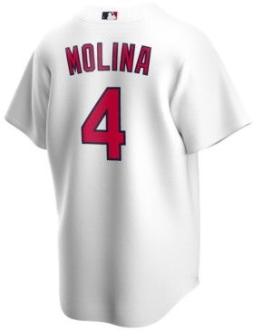 Nike Men's Yadier Molina St. Louis Cardinals Official Player Replica Jersey